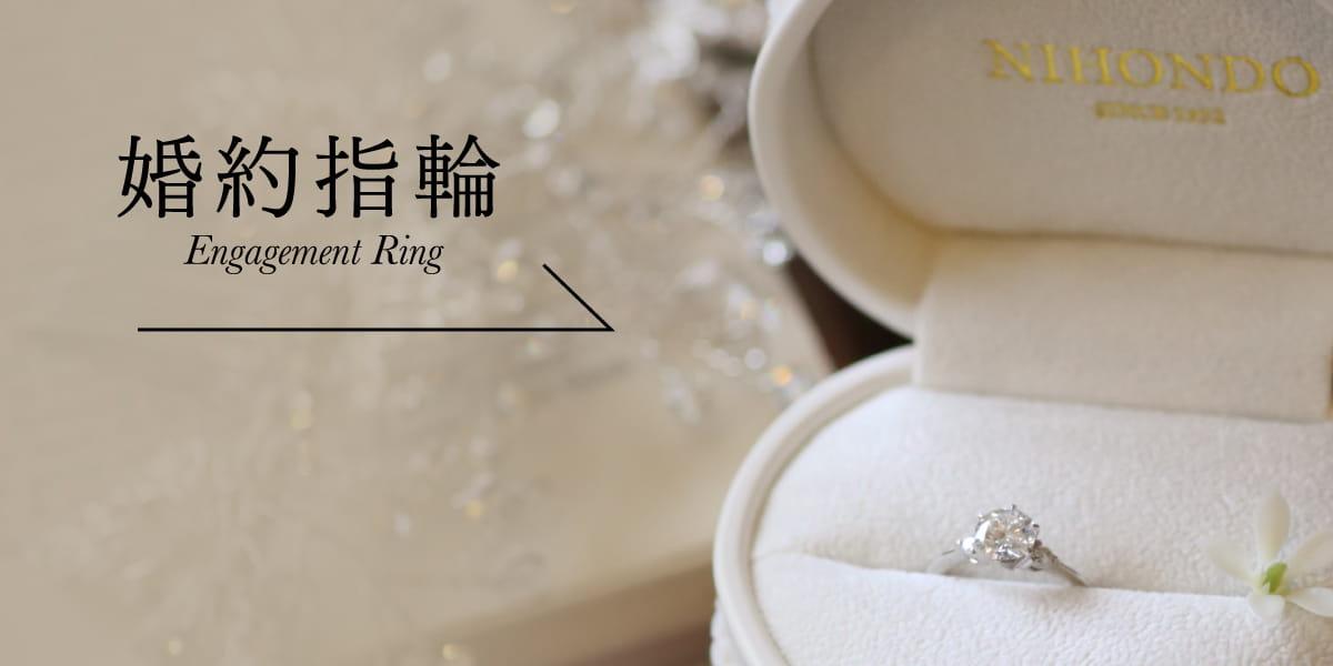 婚約指輪へのリンクボタン