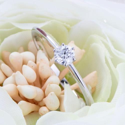 名古屋嬢婚約指輪写真