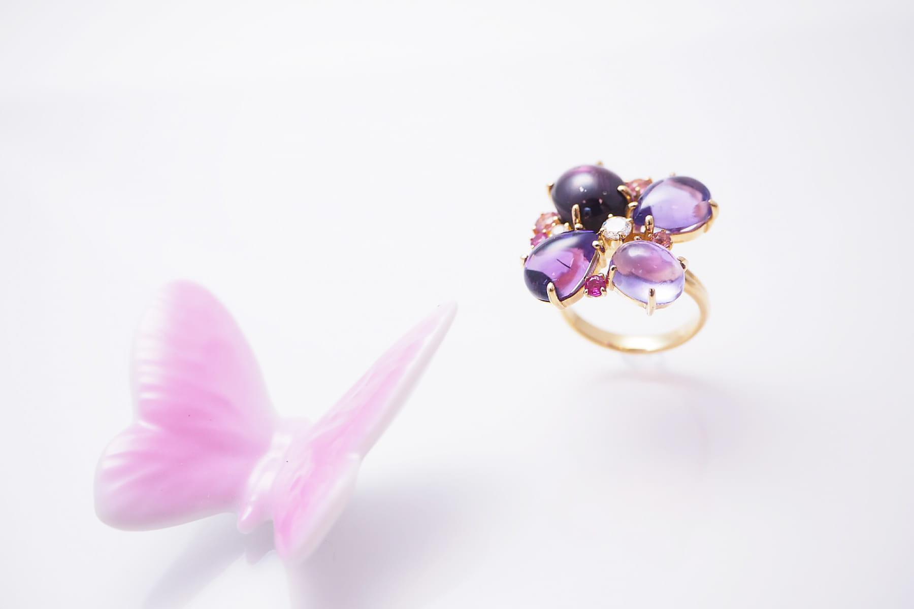日本堂「宝石を作るとは」ヒーローイメージ