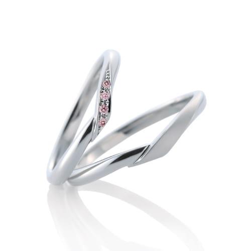 カフェリング結婚指輪写真