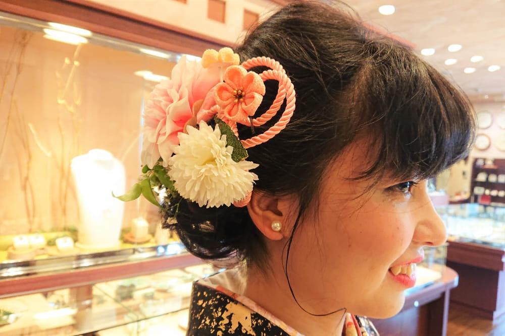 卒業式・入学式の真珠写真